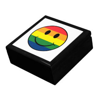 Rainbow Smiley Gift Box