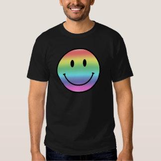Rainbow Smiley Tee Shirts