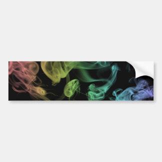 Rainbow Smoke Bumper Sticker