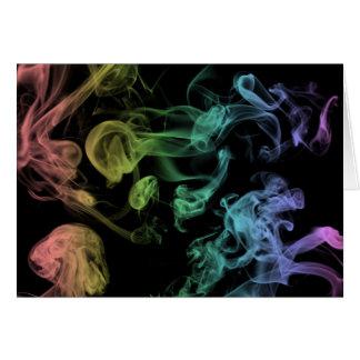 Rainbow Smoke Card