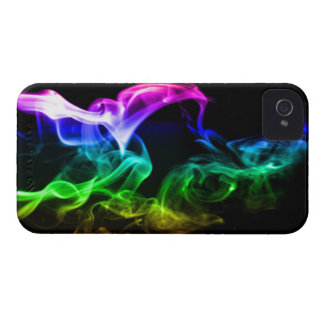 Rainbow Smoke Case-Mate iPhone 4 Cases