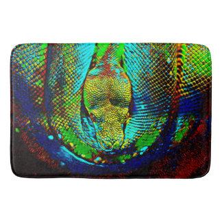 Rainbow Snake Bath Mat