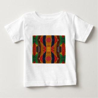 Rainbow Snake leather pattern Baby T-Shirt