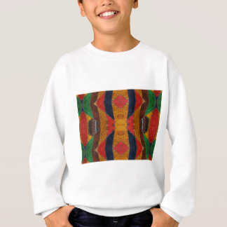 Rainbow Snake leather pattern Sweatshirt