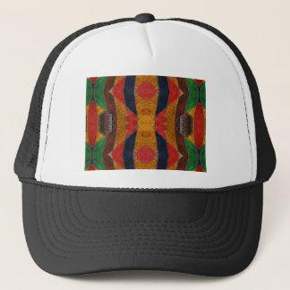 Rainbow Snake leather pattern Trucker Hat