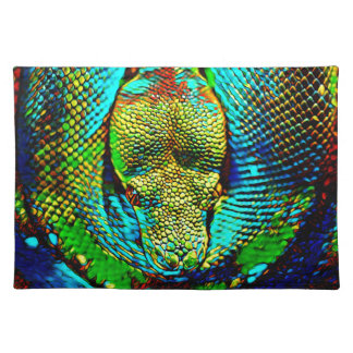 Rainbow Snake Placemat