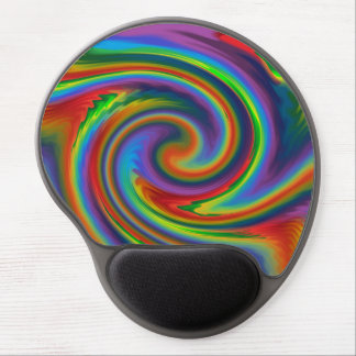 Rainbow Solar Glow Gel Mouse Pad
