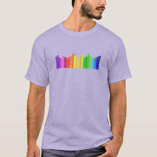 Rainbow Sound Bars Tee
