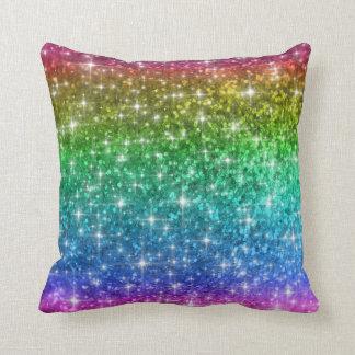 Rainbow Sparkles Cushion