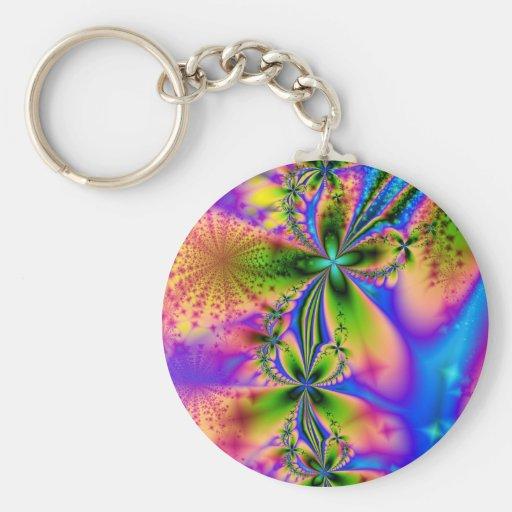 Rainbow Sparkles Keychain