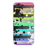 Rainbow speckle iPhone 4 case
