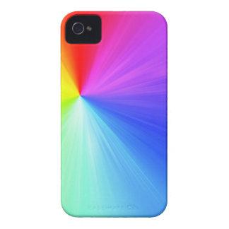 Rainbow spectrum design iPhone 4 cover