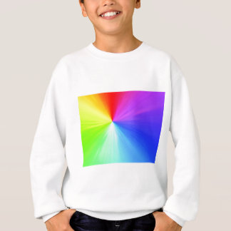 Rainbow spectrum design sweatshirt