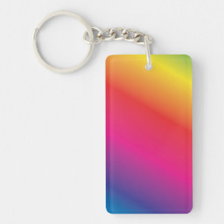 Rainbow Spectrum Key Ring