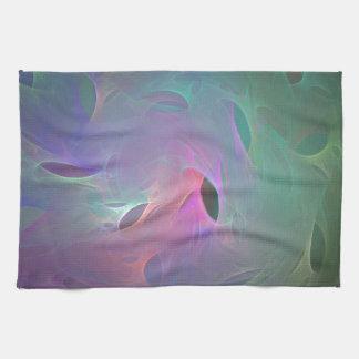 Rainbow Spider Webs Hand Towel
