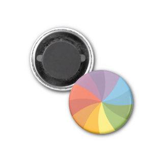 Rainbow Spinning Wheel Magnet
