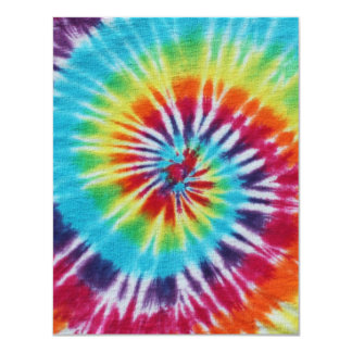 Rainbow Spiral 2 Sides Card
