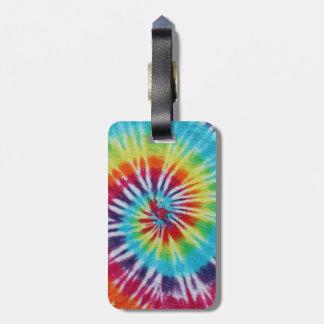 Rainbow Spiral Bag Tag