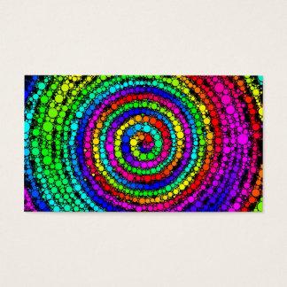 Rainbow Spiral Business Card