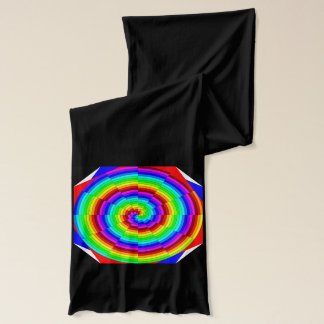 Rainbow Spiral by Kenneth Yoncich Scarf