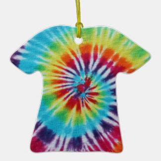 Rainbow Spiral Ceramic T-Shirt Decoration