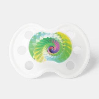Rainbow Spiral Fractal Dummy