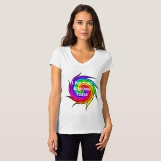 Rainbow Spiral I am your Rainbow Today T-shirt