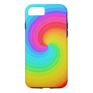 Rainbow Spiral of Hope IPhone Case