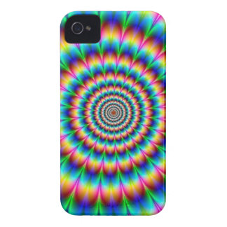 Rainbow Spiral Optical Illusion Case-Mate iPhone 4 Cases