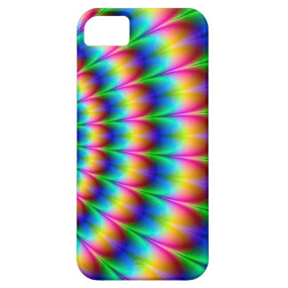 Rainbow Spiral Optical Illusion iPhone 5 Cases