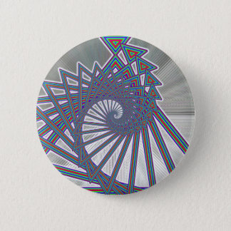 Rainbow Spiralism Button
