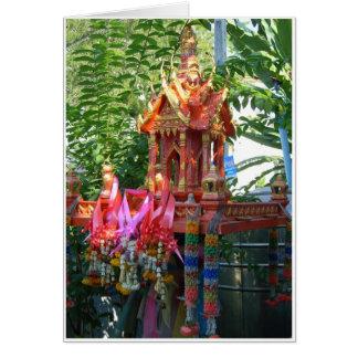 Rainbow Spirit House Card