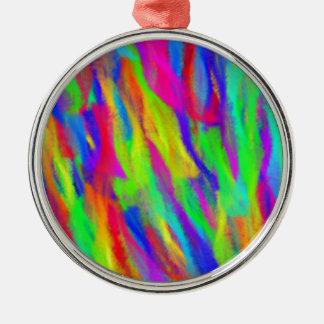 Rainbow Splashes Ornaments