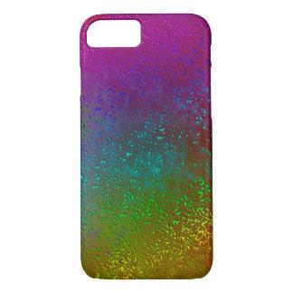 Rainbow Splatter Digital Art Design Phone Case