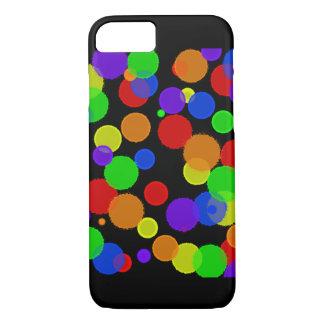 Rainbow Splatter iPhone 7 Case