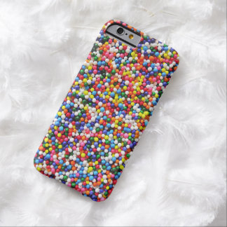 Rainbow sprinkles barely there iPhone 6 case