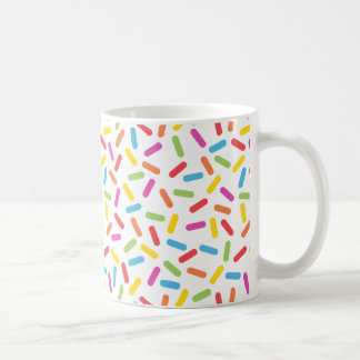 Rainbow Sprinkles Coffee Mug