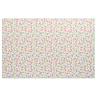 Rainbow Sprinkles Fabric