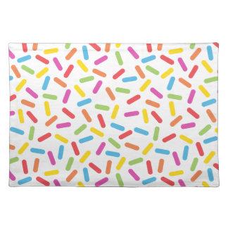 Rainbow Sprinkles Placemat
