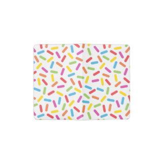 Rainbow Sprinkles Pocket Moleskine Notebook