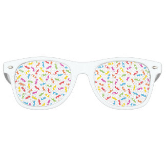 Rainbow Sprinkles Retro Sunglasses