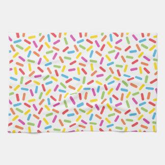 Rainbow Sprinkles Tea Towel