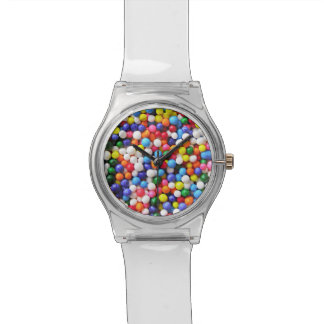 Rainbow sprinkles watch