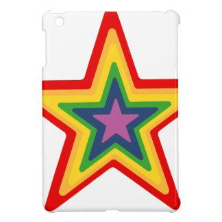Rainbow Star iPad Mini Case