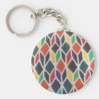 Rainbow Star Keychain