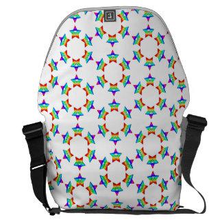 Rainbow Star Skulls Zero Messenger bag