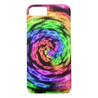 Rainbow Star Vortex Phone Case