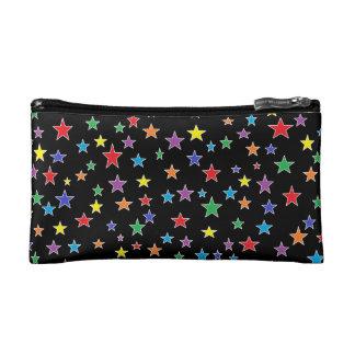 Rainbow Starry Starry Night Makeup Bag