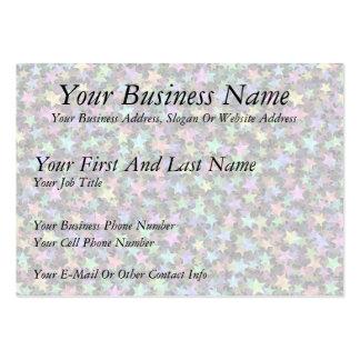 Rainbow Stars Business Card