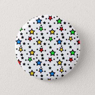 Rainbow Stars Button